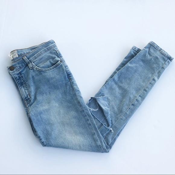 Current/Elliott Denim - Current/Elliot High Waist Stiletto Jeans